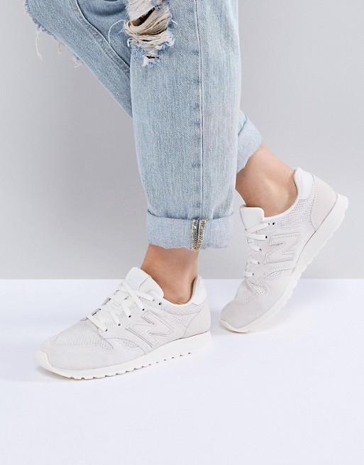 best sneakers 7841a a0957 New Balance - 520 - Scarpe da ginnastica scamosciate bianche