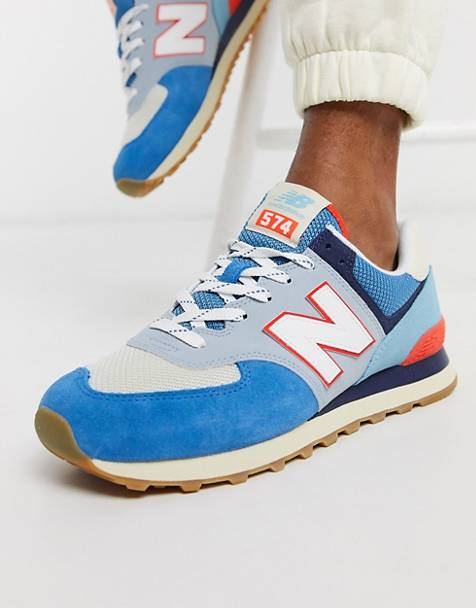 New Balance - 574 - Baskets - Bleu