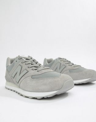 New Balance 574 Trainers In Grey ML574ETC