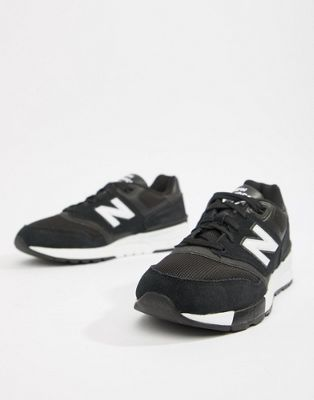 New Balance 597 trainers in black ML597AAC