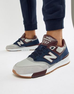 New Balance 597 Trainers In Navy ML597GNB