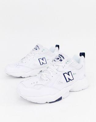 New Balance – 608 – Weiße Sneaker, MX608WT