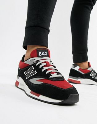 Image 1 of New Balance 840 Trainers In Black ML840CE