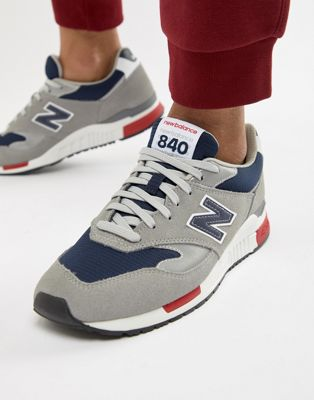 New Balance 840 Trainers In Grey ML840CD