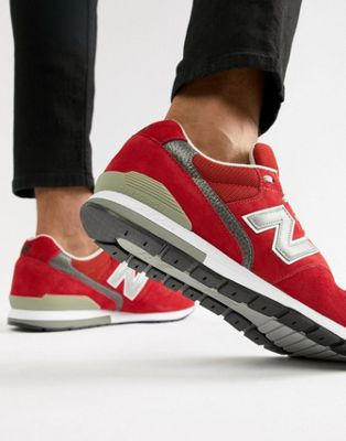 New Balance 996 trainers in red MRL996AR