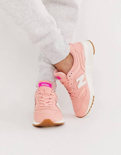 best sneakers b58db e096d New Balance - 997 - Baskets - Rose