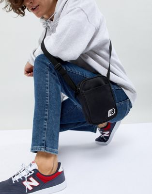 New Balance Crossbody Bag In Black 500211-001