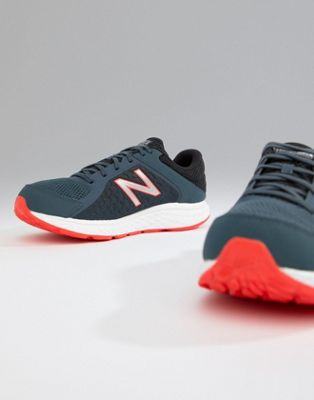 New Balance Running 420 V4 trainers in Navy