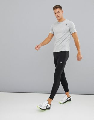 New Balance Running Accelerate tights in black