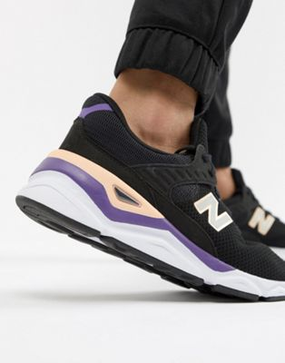 New Balance X90 Trainers In Black MSX90CRB