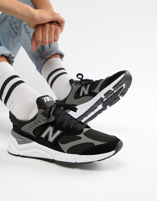 online retailer e1c55 33436 Image 1 of New Balance X90 trainers in black MSX90RLB