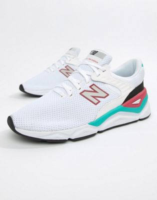New Balance X90 Trainers In White MSX90CRA