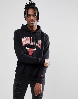 New Era - NBA Chicago Bulls - Hoody in zwart