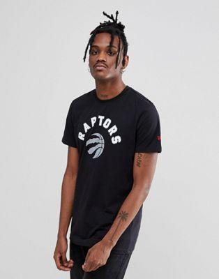 New Era - NBA Raptors T-shirt in zwart