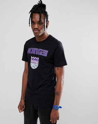 New Era - NBA Sacramento Kings T-shirt in zwart