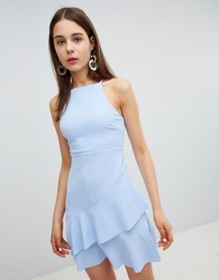 New Look Asymetrical Hem Dress