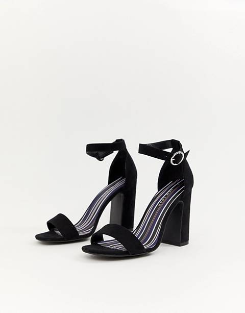 New Look Barely There Block Heel Sandal