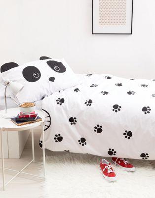 New Look – Bettgarnitur für ein Einzelbett mit Pandadesign