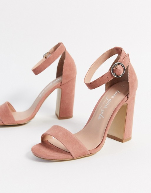 New Look block heeled sandals