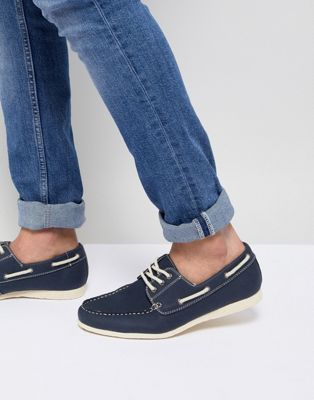 New Look - Chaussures bateau - Bleu marine