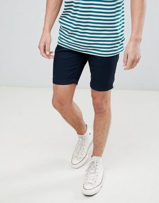 New Look Chino Shorts In Navy