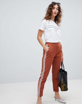 New Look Double Side Stripe Trouser