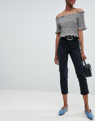 New Look Harlow Straight Leg Crop Jean