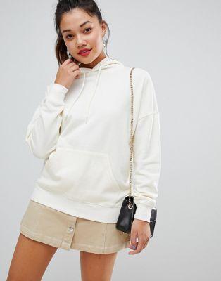 New Look - Hoodie oversize - Blanc