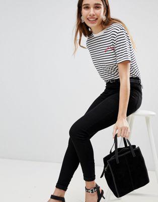 New Look - Jenna - Skinny jeans in zwart