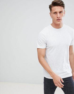 New Look – Ljusgrå t-shirt