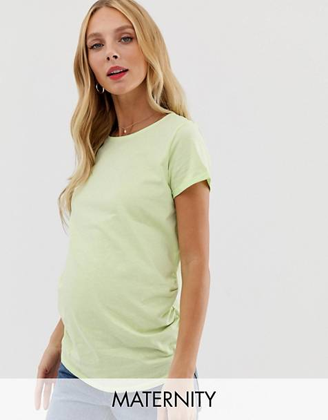 New Look Maternity - T-shirt in groen