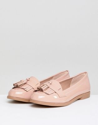Image 1 of New Look Patent Tassel Loafer