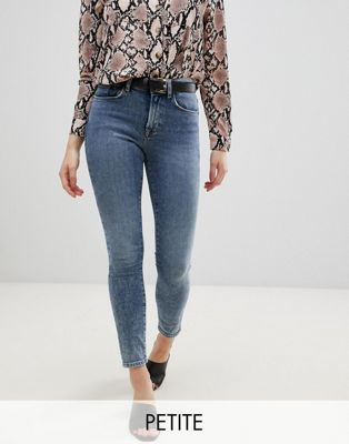 New Look Petite Acid Skinny Ankle Grazer Jeans