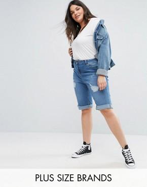 Plus Size Shorts & Plus Size Skirts | ASOS