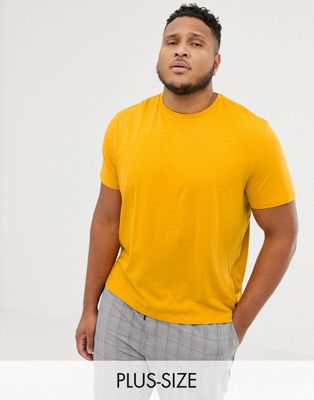 New Look Plus T-Shirt In Yellow