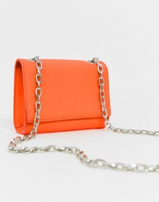 Asos New Look – Sac bandoulière – Orange fluo