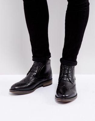 Bild 1 von New Look – Schwarze Budapester-Stiefel