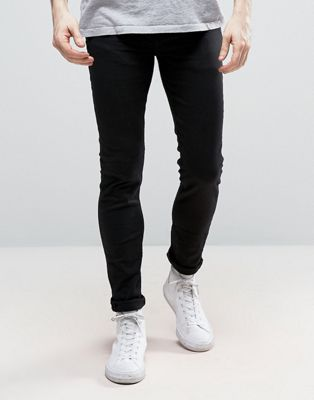 New Look Skinny Stretch Jeans In Black