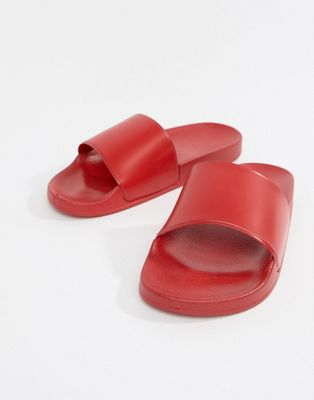 New Look Sliders In Red