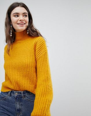 New Look Slouchy High Neck Jumper