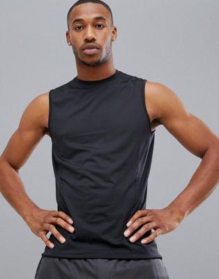 New Look – SPORT – Schwarzes Trägershirt