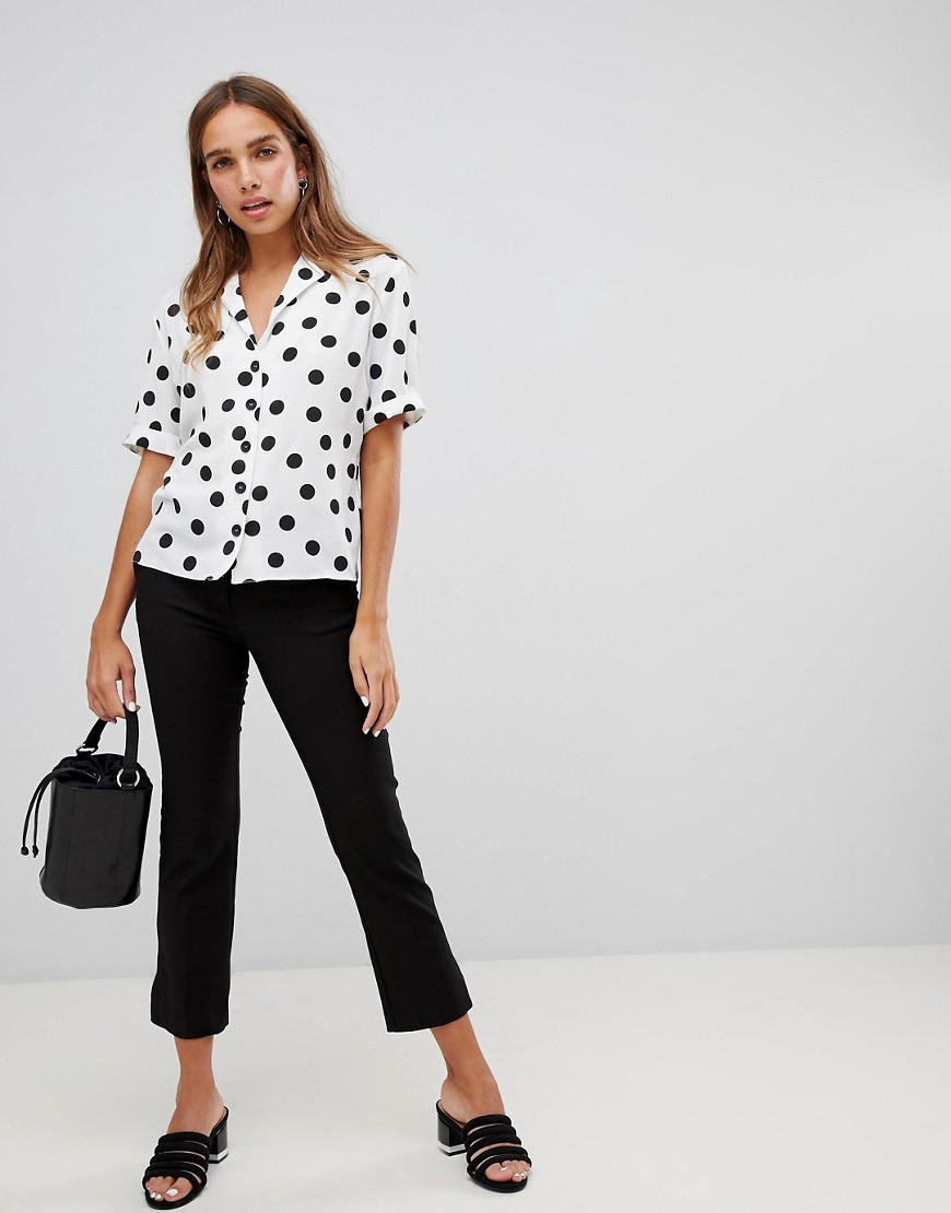 New Look Spot Print Shirt by New Look