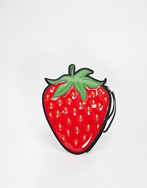 New Look Strawberry Clutch