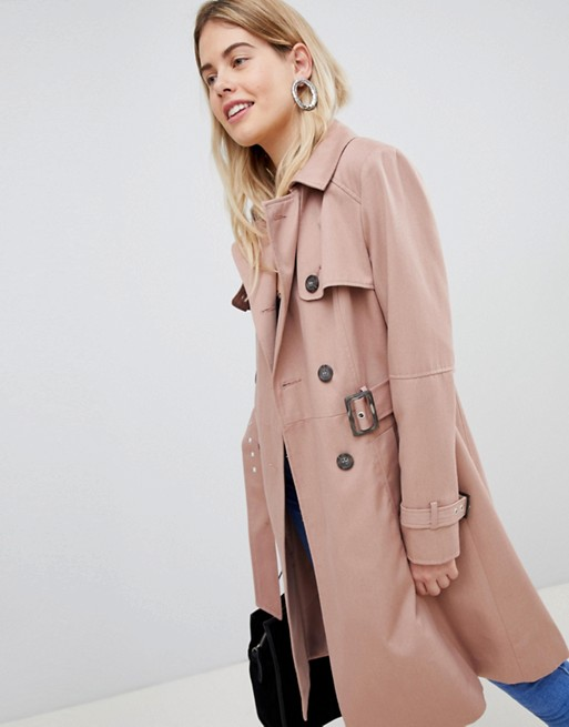 New Look Structured Mac Trench Coat