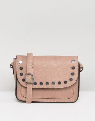 New Look Studded Crossbody Bag