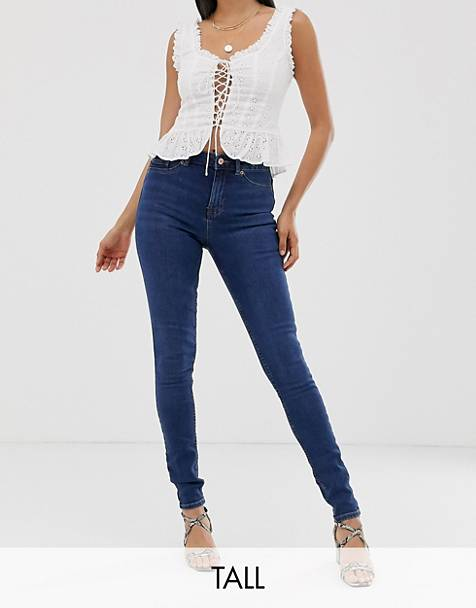 New Look Tall skinny jeans in blue