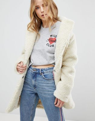 New Look Teddy Bear Coat