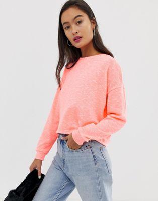 Image 1 of New Look top in neon orange