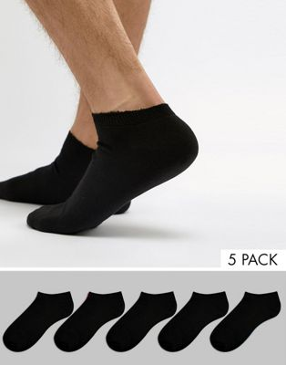 New Look Trainer Socks In Black