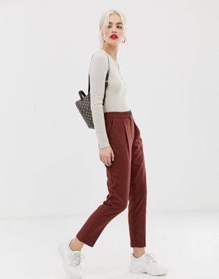 Image 1 of New Look trousers in tan